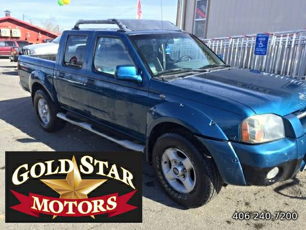 2001 NISSAN FRONTIER SE 4X4- CREW CAB- AFFORDABLE 4X4!!