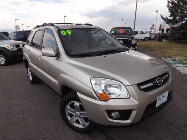 2009 KIA SPORTAGE EX ALL WHEEL DRIVE