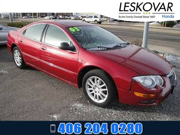 *2003* *Chrysler 300M* *4dr Car Base* *Red*