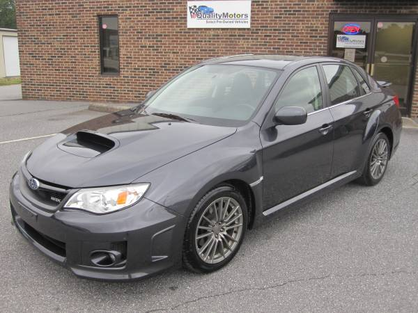 2014 SUBARU IMPREZA WRX AWD LIMITED **LEATHER**SUNROOF**HEATED SEATS**