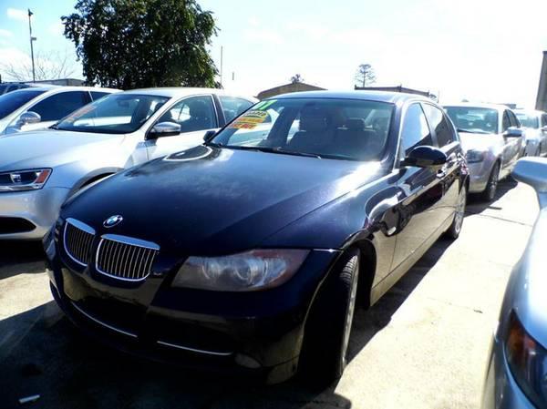 2007 BMW 335 I BLUE
