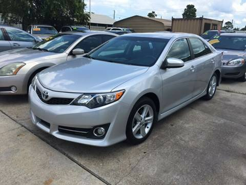 2012 TOYOTA CAMRY BASE SILVER