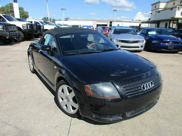 2001 *Audi* *TT* 180hp 2dr Roadster **Manager's Special**
