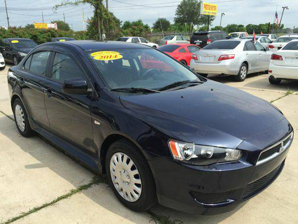 2014 *MITSUBISHI* *LANCER* ES/ES SPORT :Buy Here Pay Here Dealer in Ho