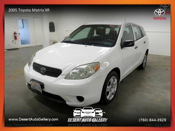 This 2005 Toyota Matrix XR Hatchback is VERY CLEAN!