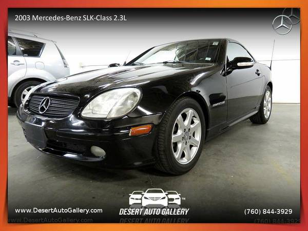 This 2003 Mercedes-Benz SLK-Class 2.3L Convertible is PRICED TO SELL!