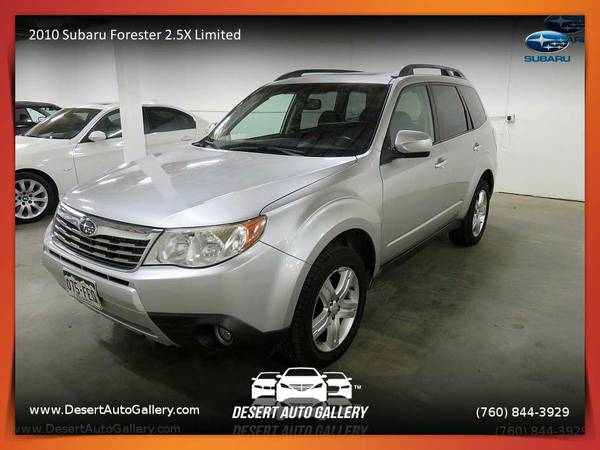 2010 Subaru Forester 2.5X Limited from sale in Palm Desert