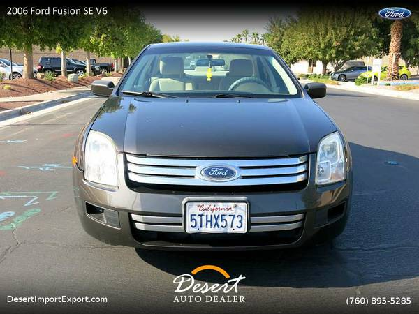 This 2006 Ford Fusion SE V6 Sedan is still available!
