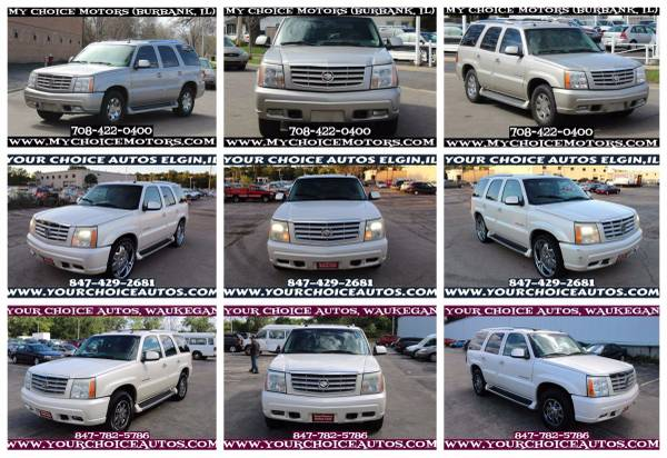 2003-2004-2005 CADILLAC ESCALADE SUV LEATHER DVD SUNROOF KEYLES ALLOY