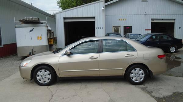 2003 Honda Accord LX $5300.00
