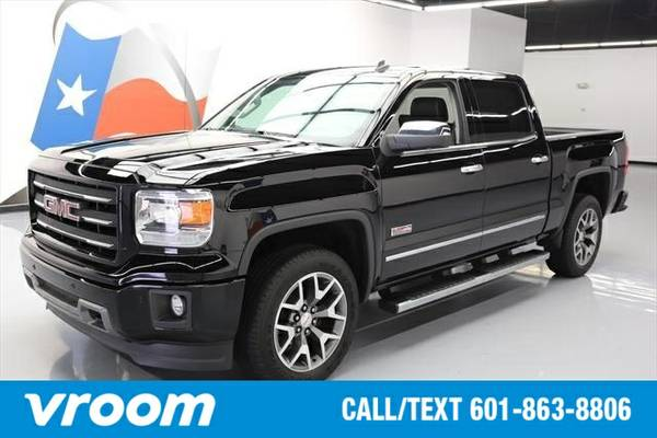 2014 GMC Sierra 1500 4x4 SLT 4dr Crew Cab 5.8 ft. SB Truck 7 DAY RETUR