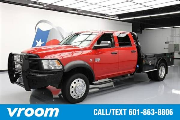 2012 RAM 4500 HD Chassis 4dr Crew Cab 4WD DRW (6.7L 6cyl ) Truck 7 DAY