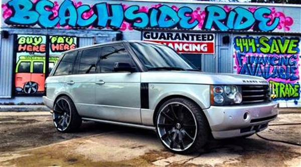 2004 RANGER ROVER HSE ($ IMPRESSIVE DOWNPAYMENT)!!! BEACHSIDE RIDE!