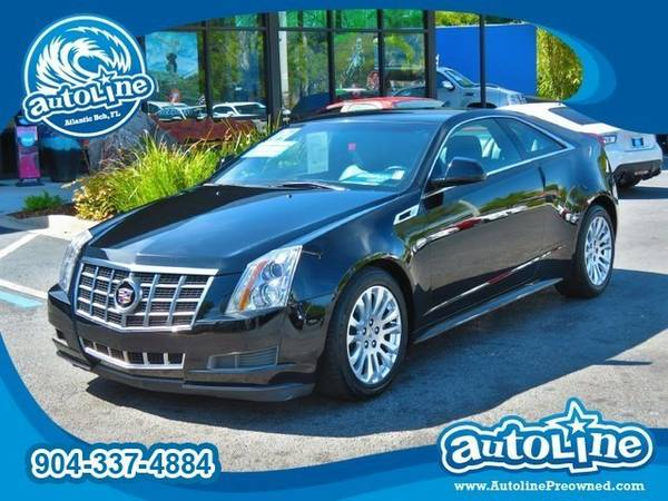 2012 Cadillac CTS Luxury Coupe CTS Cadillac