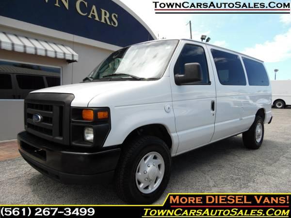 2008 Ford E350 Cargo Van *TURBO DIESEL* Work Van Cargo Van, Cargo Vans