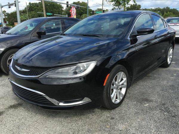 2015 *Chrysler* *200* Limited 4dr Sedan 💥🚗 As low as $