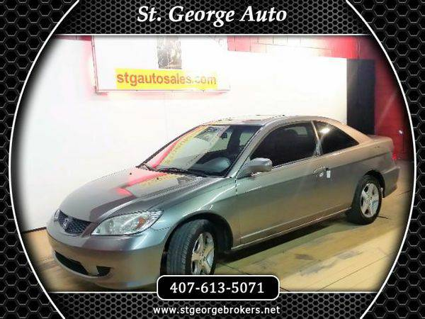 2004 *Honda* *Civic* EX coupe - Call or Text! Financing Available