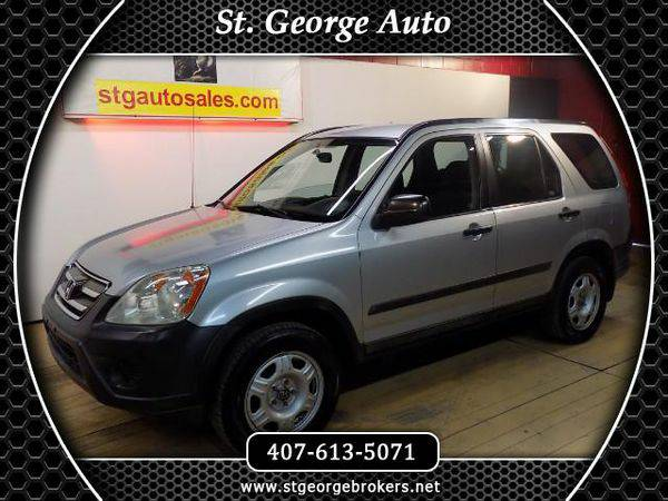 2005 *Honda* *CR-V* LX 2WD AT - Call or Text! Financing Available