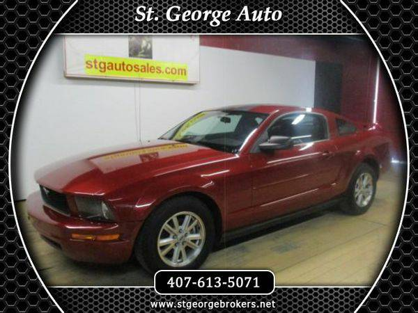 2008 *Ford* *Mustang* V6 Deluxe Coupe - Call or Text! Financing Availa