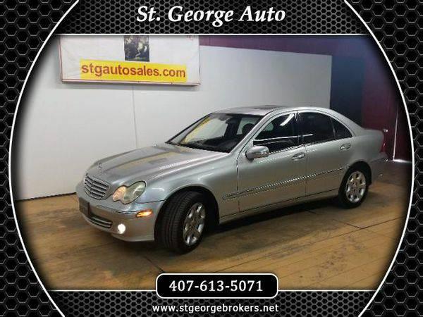 2005 *Mercedes-Benz* *C-Class* C240 Luxury Sedan - Call or Text! Finan