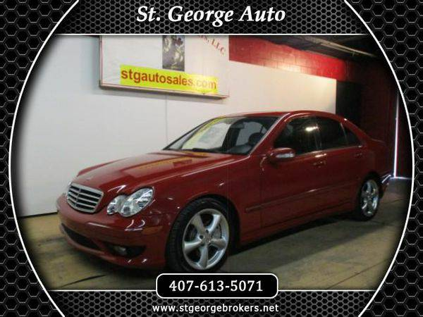 2006 *Mercedes-Benz* *C-Class* C230 Sport Sedan - Call or Text! Financ