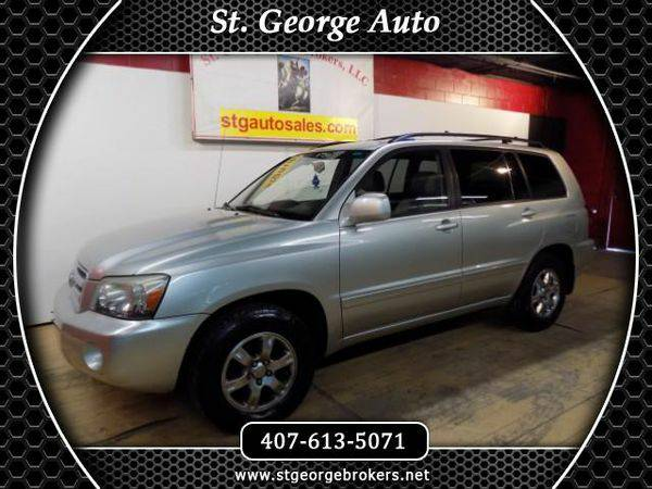 2004 *Toyota* *Highlander* V6 2WD with 3rd-Row Seat - Call or Text! Fi