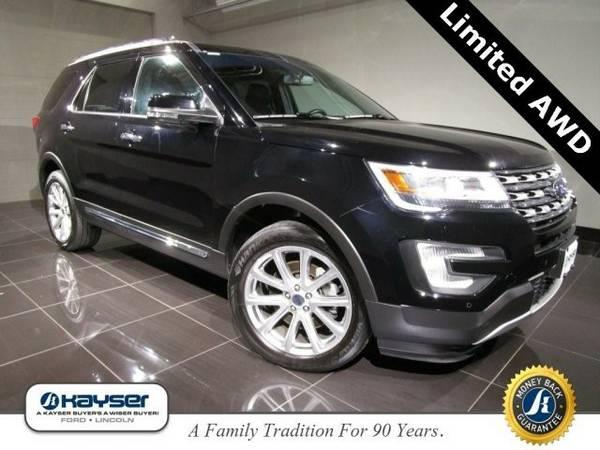 2016 Ford Explorer Limited SUV Explorer Ford