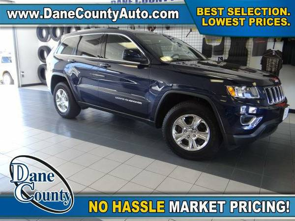 2014 *Jeep Grand Cherokee* Laredo-4x4 - Jeep True Blue Pearlcoat
