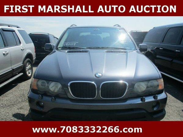 2003 BMW X5 3.0i AWD 4dr SUV - First Marshall Auto Auction