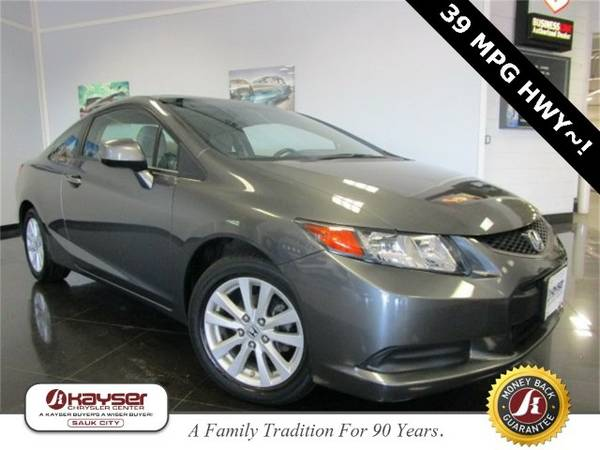 2012 Honda Civic EX Coupe Civic Honda