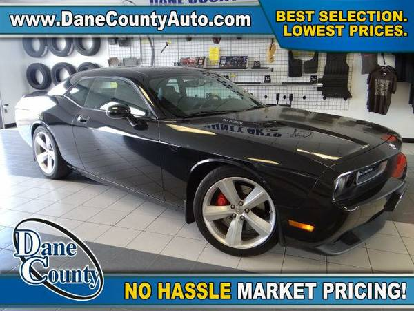 2010 *Dodge Challenger* SRT8 - Dodge Brilliant Black Crystal Pearlcoat
