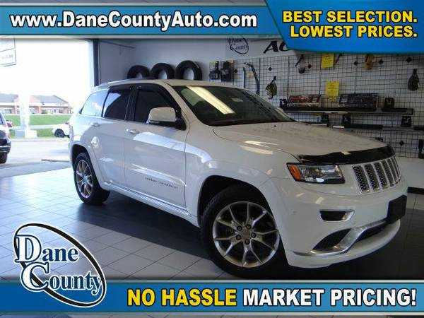 2015 *Jeep Grand Cherokee* Summit - Jeep Bright White Clearcoat