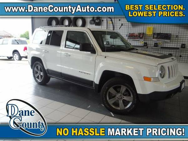 2016 *Jeep Patriot* Sport-4x4 - Jeep Bright White Clearcoat