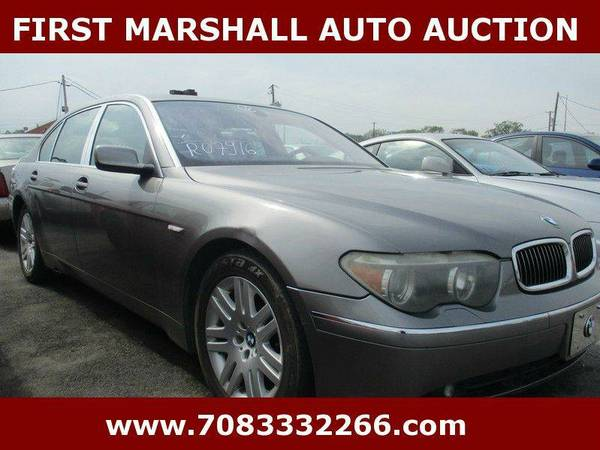 2002 BMW 7 Series 745Li 4dr Sedan - First Marshall Auto Auction