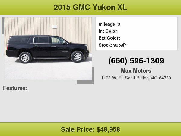 2015 GMC Yukon XL 4WD 4dr SLT **WE FINANCE**WE LOVE TRADE-INS**