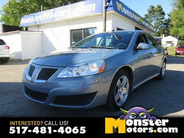 2009 Pontiac G6 4d Sedan Base/SE 2.4L (2009.5)