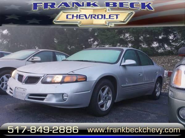 2003 *Pontiac Bonneville* SE - Silver