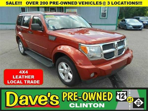 2007 *Dodge Nitro* SLT 4WD 4dr SUV - ORANGE