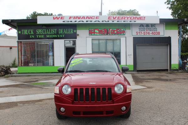 2010 JEEP COMPASS! *** SPORT 4X4! *** YOUR FINANCING APPROVED FAST!!!!