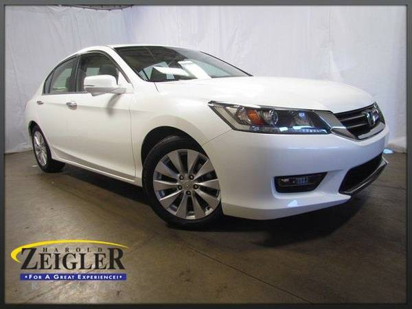 2014 *Honda Accord* EX - White