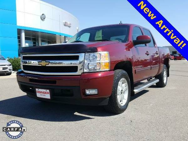 2009 *Chevrolet Silverado 1500* LTZ - (Deep Ruby Metallic) 8 Cyl.