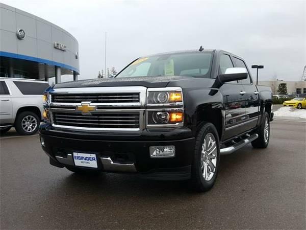 2014 *Chevrolet Silverado 1500* High Country - (Black) 8 Cyl.