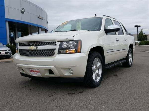 2009 *Chevrolet Avalanche 1500* LTZ - (Black) 8 Cyl.