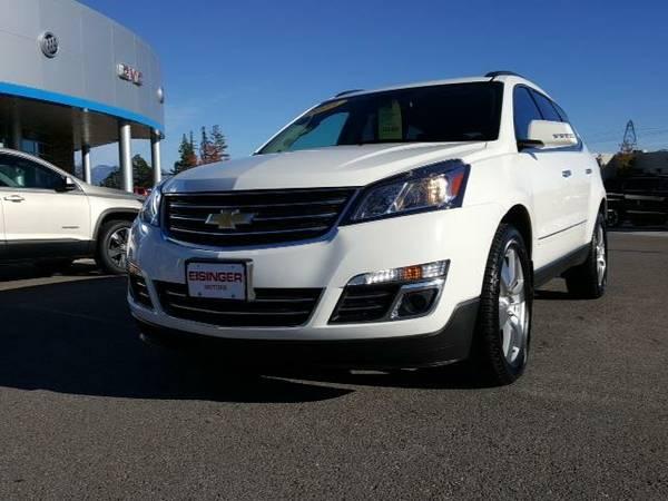 2015 *Chevrolet Traverse* LTZ - (White) 6 Cyl.