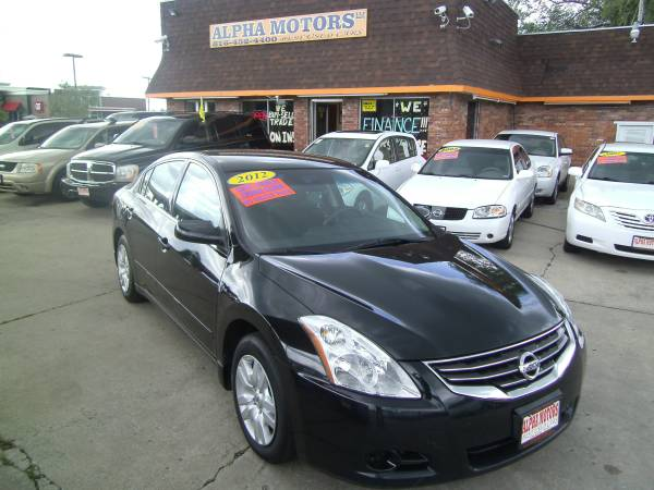 2012 NISSAN ALTIMA 2.5 S - 1 OWNER - LOW MILES!