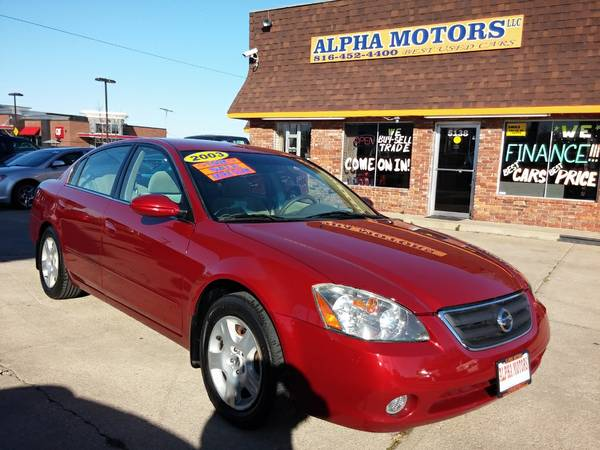 2003 NISSAN ALTIMA 2.5 S, LOW MILES, NEW TIRES!