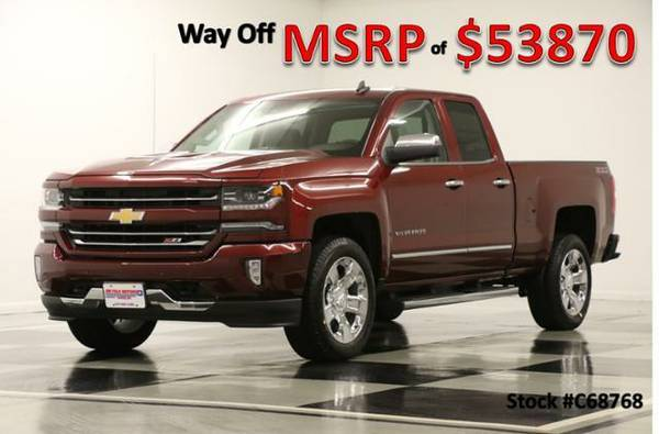 *COOLED LEATHER - SILVERADO 1500 4X4 Z71* 2016 Chevy *CAMERA- GPS*