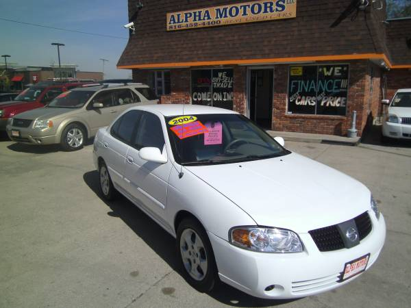 2004 NISSAN SENTRA 1.8 S, AUTOMATIC, FULL POWER, 88K MILES, 30+ MPG!!!