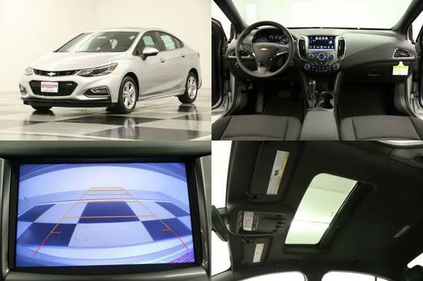 *BAD CREDIT OK! -SPORTY CRUZE* 2016 Chevy *SUNROOF - CAMERA*