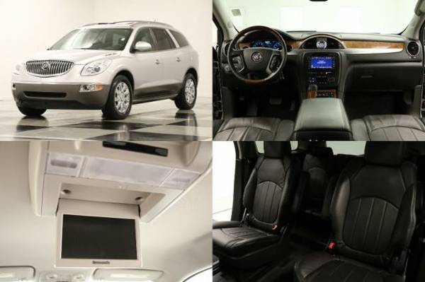 *FLAWLESS ENCLAVE w CAMERA* 2012 Buick *DVD w COOLED LEATHER*